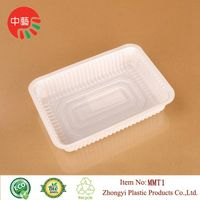 food grade plastic disposable blister deli food tray thumbnail image