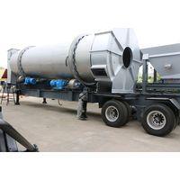 80TPH Mobile Continous Asphalt Hot Mix Plant mobile asphalt batching mixing plant thumbnail image