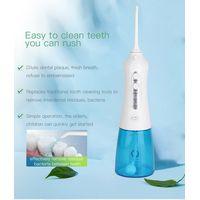 Electric Smart Oral Irrigator Teeth Cleaner Cordless Dental Portable Water Flosser