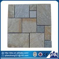 cheap natural irregular stone mosaic interior decoration items