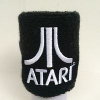 Promotional wrist sweatband