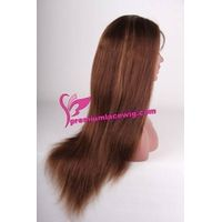 100% Human Hair Glueless Lace Wig