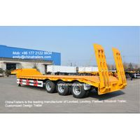 Low bed trailer / Lowboy trailer / Low loaders