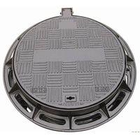 grey iron manhole cover