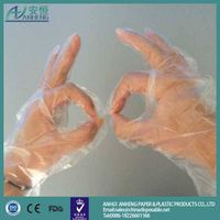 Multifunctional cheap price disposable pe glove made in China