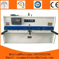 Hydraulic Swing Shearing Machine QC12Y-4x3200mm metal sheet cutting with CE certificate