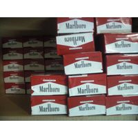 Branded duty free cigarettes
