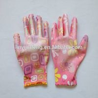 electrial insulated rubber hand gloves pu coated safe hand gloves
