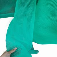 Fire resistant building netting safety nets