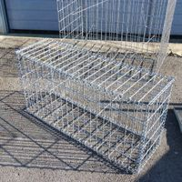 Welded gabion,PVC coated,Welded Gabion Baskets Has Durable Structure and Higher Strength