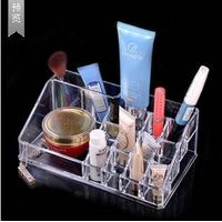 1029Fashion Acrylic Makeup Organizer Storage Box Case Cosmetic Jewelry Makeup Storager Boxes
