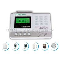 wireless 98 zones home alarm system with LCD(L&L-808E)