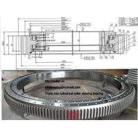 triple row cylindrical roller slewing bearing