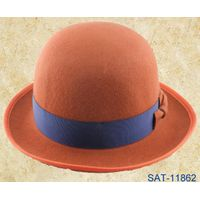 pure wool felt bowler hat