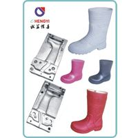 pvc kids' air blowing boot shoes mold