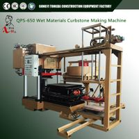 Wet Materials Hydraulic Press Concrete Paving Block curbstone Making Machine