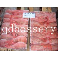 frozen Red fish fillet