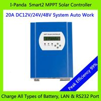 New Product 48V 20A MPPT solar charge controller 48V 20A PV Regulator 286W (12V)/ 572W (24V)/ 1144W