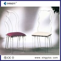 acrylic /perspex chair