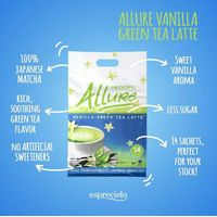 Allure Vanilla Green Tea Latte