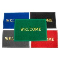 Welecome mat/pvc coil door mat/floor carpet mat