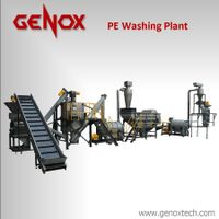 Pet Washing Plant Paper Shredder Plastic Recycling Pet Bottles Washing Machine