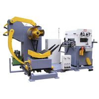 NC Servo Feeder with uncoiler and straightener