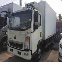 howo 4x2 5 ton refrigerator van truck freezer truck thumbnail image