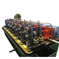 ERW tube mill steel pipe manufacturing machine