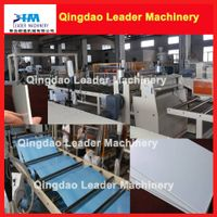 Plastic sheet machine; PP PE PS ABS HIPS PMMA PC sheet extrusion machine
