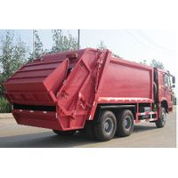 SINOTRUK HOHAN 6x4 COMPACTOR GARBAGE TRUCK LHD 336 hp