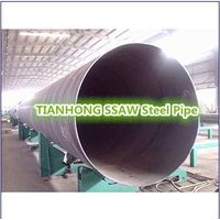 API 5L Q195-Q235 SSAW round weld steel pipe
