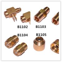 B1102~1105 Customized gas burner nozzles for gas heater parts