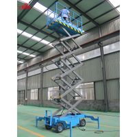 Hydraulic movable scissor lift, manual scissor lift for sale