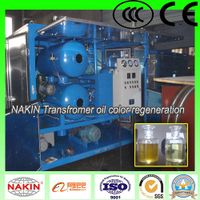 ZYD vacuum transformer oil purifier, oil filtration with double stages