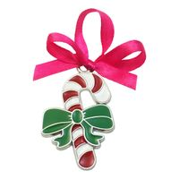 Candy Shaped Christmas Pendant with Lace for Decoration