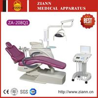 Most Popular Dental Chair ZA-208Q1 with ISO&CE Certificate