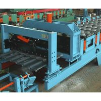 Galzed tile roll forming machine