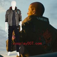 Cyberpunk 2077 man cosplay costume role playing video costume