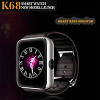 Smart Watch K68 with Heart rate watch,bluetooth watch support IOS and android