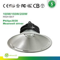 Meanwell driver 100W LED high bay light