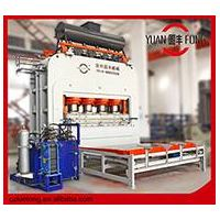 melamine press machine for furniture boards