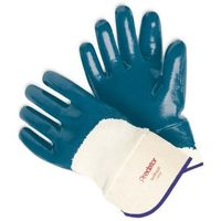 Leather PVC cotton welding gloves