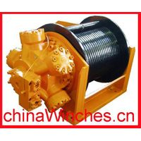 Free Fall Function Lebus Grooved Drum Hydraulic Winch thumbnail image