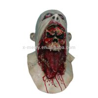 X-MERRY TOY High Quality Halloween Latex Bloody Mask Zombie Face Melting Walking Dead Costume Party