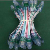 12mm 5VDC LED pixel light full color 9813IC