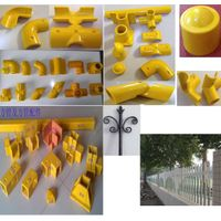 FRP moulded products SMC products  handrail sign/warning board sign pole