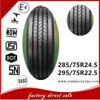 Kapsen SmartWay brand truck tires 295 / 75R22. 5 11R22. 5