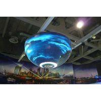 flexible led curtain display P8 led ball display indoor thumbnail image