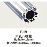 Anodized industrial aluminum profile expo booth